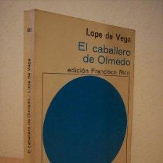 Gebrauchte Bücher - EL CABALLERO DE OLMEDO (LOPE DE VEGA) - 28980246