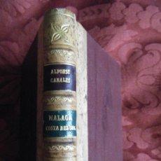 Libros de segunda mano: MALAGA COSTA DEL SOL, DE ALFONSO CANALES. Lote 30566496