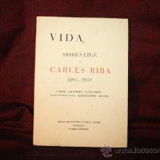 Libros de segunda mano: 1194- 'HOMENATGE A CARLES RIBA 1893-1959'. NÚMERO ESPECIAL DEL SEMANARIO CATALÁN 'VIDA'. 1964. Lote 30768530
