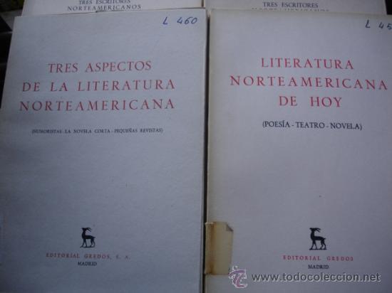 Libros de segunda mano: TRES ESCRITORES NORTEAMERICANOS.8 PRIMEROS VOLUMENES.1961.GREDOS - Foto 3 - 31235020