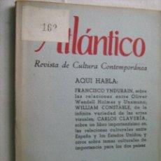 Libros de segunda mano: ATLÁNTICO Nº 4. REVISTA DE CULTURA CONTEMPORÁNEA. 1957. Lote 31235412