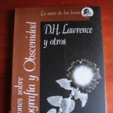 Libros de segunda mano - REFLEXIONES SOBRE PORNOGRAFÍA Y OBSCENIDAD - D.H. LAWRENCE, BORIS VIAN, HENRY MILLER - 31562155