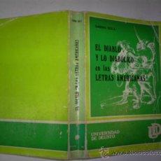 Libros de segunda mano: EL DIABLO Y LO DIABÓLICO EN LAS LETRAS AMERICANAS. (1550-1750) SABINO SOLA 173 RM58165. Lote 32855184