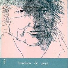 Libros de segunda mano: FRANCISCO DE GOYA. DIPLOMATARIO. EDICIÓN PREPARADA POR ANGEL CANELLAS LÓPEZ. ZARAGOZA, 1981. GOYA. Lote 32270270