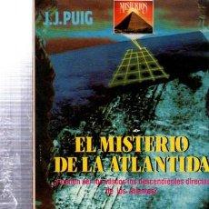 Libros de segunda mano: EL MISTERIO DE LA ATLÁNTIDA, J.J.PUIG, EDITORIAL NITRE, BARCELONA 1990, 160PÁGS, 11X18CM. Lote 33534134
