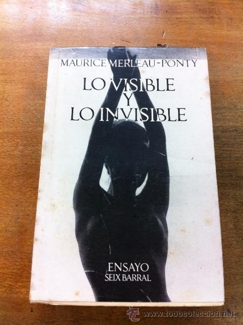 Lo Visible Y Lo Invisible Maurice Merleau Pont Comprar Libros De