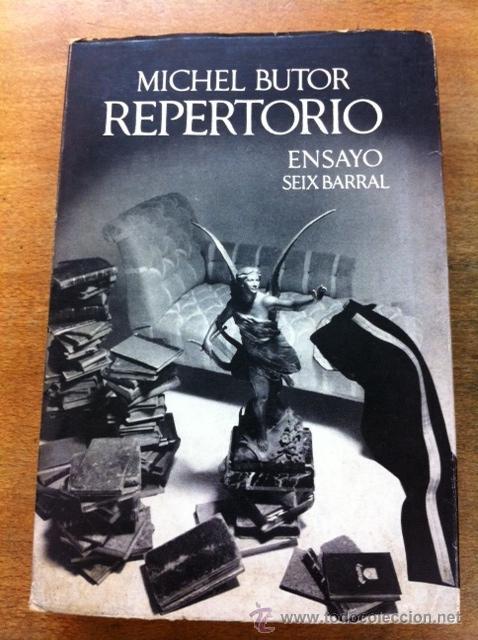 Repertorio michel butor comprar libros de ensayo en todocoleccion 34522366 - Libreria segunda mano online ...