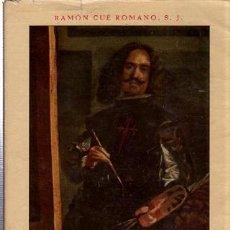 Libros de segunda mano: RAMÓN CUÉ ROMANO, SU MAJESTAD EL PINTOR 1660-1960, COMPOSTELA 1960, 92PÁGS, 17X22CM. Lote 35511443
