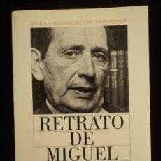 Libros de segunda mano: RETRATO DE MIGUEL DELIBES. GALERIA ESCRITORES CONTEMP. CIRCULO LECTORES. 1986 92 PAG. Lote 35563629
