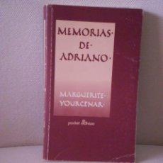 Libros de segunda mano: MEMORIAS DE ADRIANO. Lote 35938992