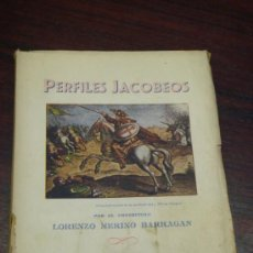 Libros de segunda mano: PERFILES JACOBEOS. 1954. AÑO SANTO COMPOSTELANO.. Lote 37534843