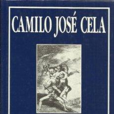 Libros de segunda mano: LOS CAPRICHOS DE FRANCISCO DE GOYA Y LUCIENTES. CAMILO JOSÉ CELA. EDI SILEX. 1989. Lote 39275719