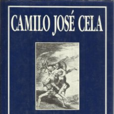 Libros de segunda mano: LOS CAPRICHOS DE FRANCISCO DE GOYA Y LUCIENTES. CAMILO JOSÉ CELA. SÍLEX. 1989. Lote 39369850