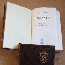Libros de segunda mano: ENSAYOS. UNAMUNO (MIGUEL DE ) MADRID, AGUILAR, COLECCIÓN JOYA, 1964.. Lote 40289057