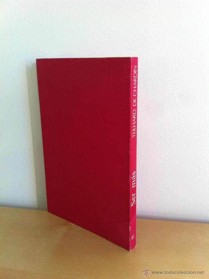 Libros de segunda mano: SER MÁS. TEILHARD DE CHARDIN. EL FUTURO DE LA VERDAD. TAURUS EDICIONES. ---3ª COMPRA ENVÍO GRATIS--- - Foto 2 - 41453411