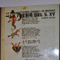 Libros de segunda mano: LA POESÍA DEL S. XV. ALBERTO BLECUA RM64557. Lote 41457290