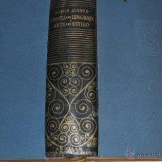 Libros de segunda mano: CIENCIA DEL LENGUAJE Y ARTE DEL ESTILO. MARTÍN ALONSO RM64913. Lote 41712126