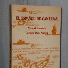 Libros de segunda mano: EL ESPAÑOL DE CANARIAS.. Lote 42551805