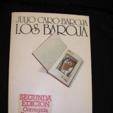 Libros de segunda mano: LOS BAROJA. JULIO CARO BAROJA. Lote 43073963
