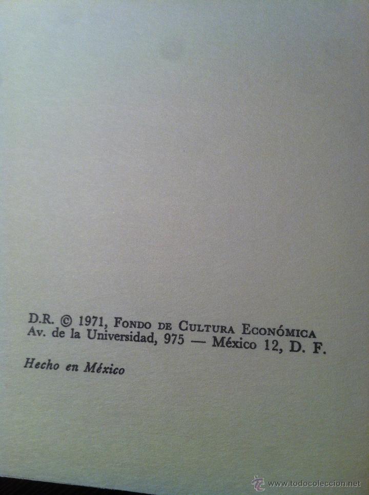 Libros de segunda mano: Introducción a la historia del libro y de las bibliotecas - A. Millares Carlo - México - 1971 - - Foto 4 - 43391404