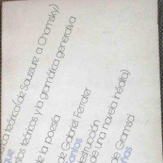 Libros de segunda mano: GACETA LITERARIA, Nº 1, 1973. Lote 44241238