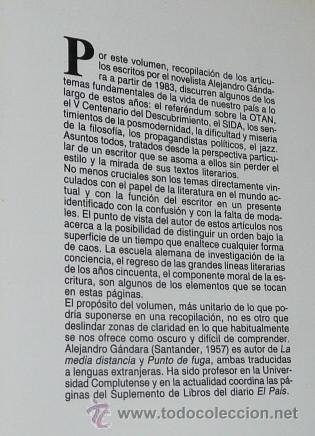 Libros de segunda mano: No nos entendemos- Alejandro Gándara (Jucar Universidad, 1989) - Foto 2 - 44327974