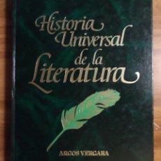 Libros de segunda mano: HISTORIA UNIVERSAL DE LA LITERATURA. TOMO I. ARGOS VERGARA.. Lote 45128768