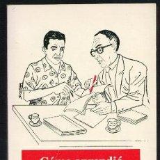 Libros de segunda mano: CÓMO APRENDIÓ A ESCRIBIR GARCÍA MARQUEZ, JORGE GARCÍA USTA. Lote 45705772