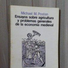 Libros de segunda mano: ENSAYOS SOBRE AGRICULTURA Y PROBLEMAS GENERALES DE LA ECONOMÍA MEDIEVAL.. Lote 46242627