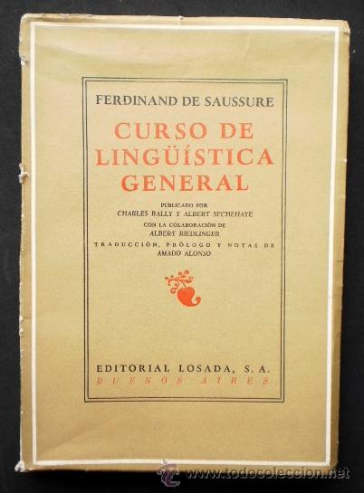 curso de linguistica general ferdinand de saussure