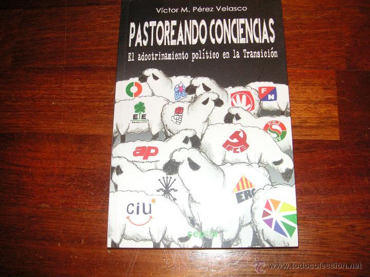 ENSAYO PASTOREANDO CONCIENCIAS - ADOCTRINAMIENTO POLITICO EN LA TRANSICION. VICTOR PEREZ VELASCO (Libros de Segunda Mano (posteriores a 1936) - Literatura - Ensayo)