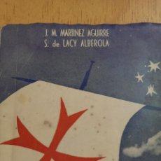 Libros de segunda mano: CUANDO MUEREN LAS NACIONES J. M. MARTÍNEZ AGUIRRE S. DE LACY ALBEROLA EDITORIAL REUS AÑO 1948. Lote 47317911