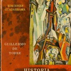 Libros de segunda mano: HISTORIA DE LAS LITERATURAS DE VANGUARDIA / GUILLERMO DE TORRE - 1965. Lote 47791225