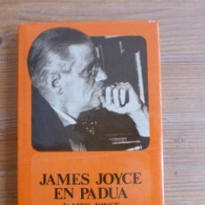 Libros de segunda mano: JAMES JOYCE EN PADUA. JOYCE Y LOUIS BERRONE. FONDO CULTURA ECONOMICA. 1980 189 PAG. Lote 48213899