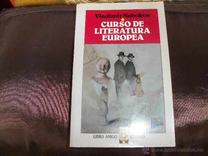 CURSO DE LITERATURA EUROPEA. (Libros de Segunda Mano (posteriores a 1936) - Literatura - Ensayo)