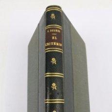Libros de segunda mano: L- 546. EL CRITERIO. JAIME BALMES. EDICION CONMEMORATIVA DEL CENTENARIO. 1943. EDITORIAL BALMES.. Lote 48627061