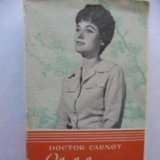 Libros de segunda mano: EL LIBRO DE LA JOVEN. DOCTOR CARNOT. STUDIUM. 1965. 328 PÁGS.. Lote 48712459