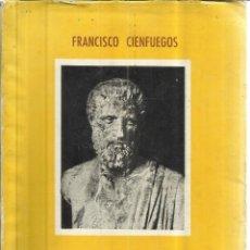 Libros de segunda mano: EMOCIÓN EN LA ENFERMEDAD Y OTROS ENSAYOS. FRANCISCO CIENFUEGOS. IMPRENTA STELLA. GIJÓN. 1961. Lote 49861775