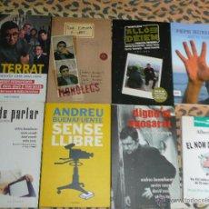 Libros de segunda mano: HUMOR. LOTE DE LIBROS ANDREU BUENAFUENTE. EL TERRAT. (VER DETALLES) PEPE RUBIANES MONÓLOGOS CATALÀ. Lote 50508432