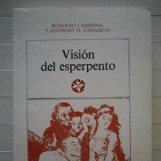 Libros de segunda mano: RODOLFO CARDONA & ANTHONY N ZAHAREAS - VISIÓN DEL ESPERPENTO: TEORÍA Y PRÁCTICA EN LOS ESPERP. Lote 50817199