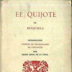 Libros de segunda mano: EL QUIJOTE DE BENJUMEA (RONDAS, 1986). Lote 56706176