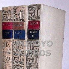 Libros de segunda mano: LARRA. I. ARTÍCULOS DE COSTUMBRES. / II. ARTÍCULOS DE CRÍTICA LITERARIA Y ARTISTICA. / III. ARTÍCULO. Lote 37977789