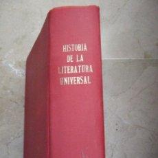 Libros de segunda mano: HISTORIA DE LA LITERATURA UNIVERSAL - DIRIGIDA POR CIRIACO LOPEZ BUSTAMANTE - ATLAS 1947-992 PAGINAS. Lote 52617301