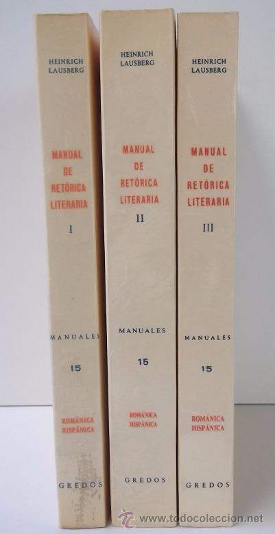 Manual de retorica literaria/ manual of rhetorical literature.