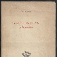 Livros em segunda mão: VALLE-INCLAN Y LA PLASTICA. LLORENS, EVA. A-TLIT-206. Lote 52823157