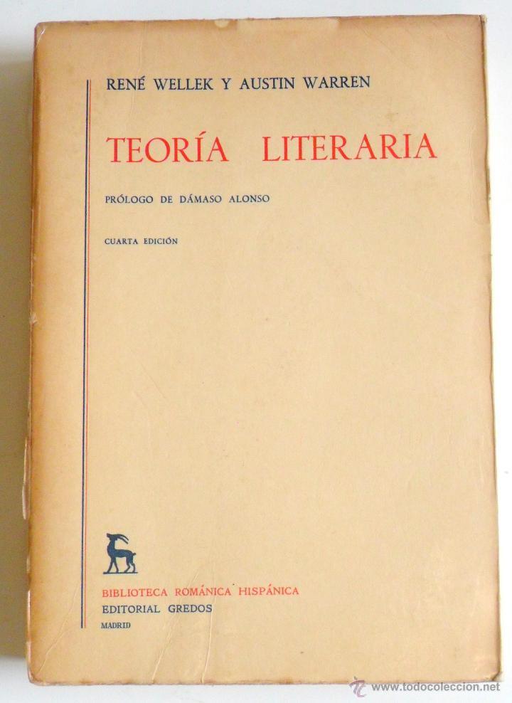 Resultado de imagen para wellek y warren teoria literaria