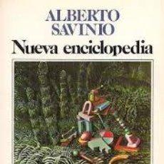 Libros de segunda mano: ALBERTO SAVINIO: NUEVA ENCICLOPEDIA. TRADUCCIÓN DE JESÚS PARDO. (SEIX BARRAL, 1983). Lote 53590542