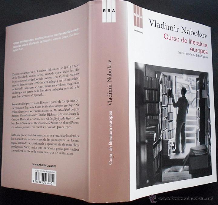 Libros de segunda mano: Curso de literatura europea - Vladimir Nabokov - RBA (2012) TAPA DURA NUEVO - Foto 3 - 54102398