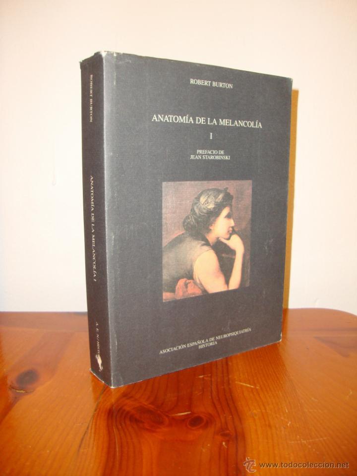 anatomía de la melancolía, 1 - robert burton - - Comprar Libros de ...