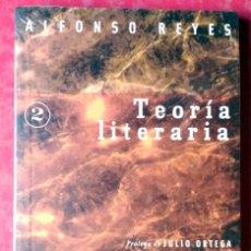 Libros de segunda mano: ALFONSO REYES . TEORÍA LITERARIA. Lote 55138210